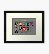 Mortal Kombat – Choose Liu Kang Framed Print