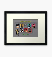 Mortal Kombat – Choose Scorpion Framed Print