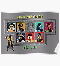 Mortal Kombat – Choose Scorpion Poster