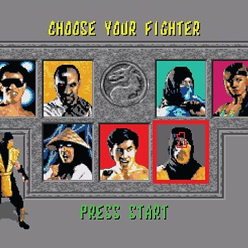 Mortal Kombat – Choose Scorpion by PonchTheOwl