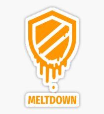 meltdown Sticker