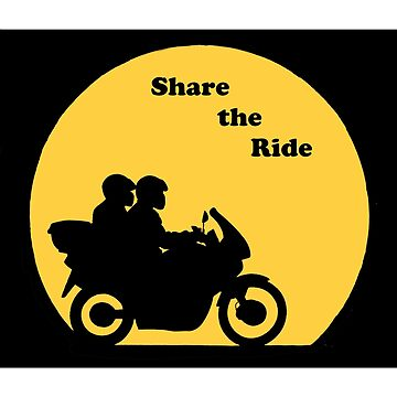 Share the Ride Bikers by DreamLizard