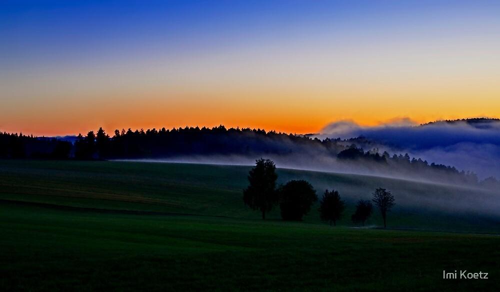 Sunset.....Black Forest by Imi Koetz