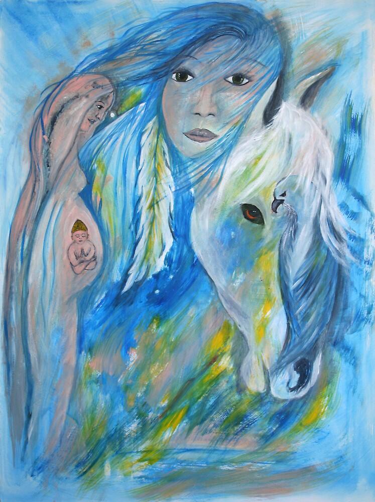 birth of peace & balance by janaschmidt