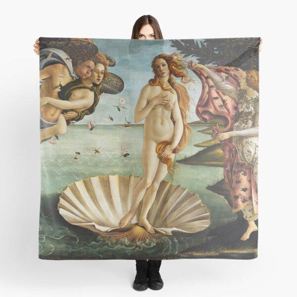 Iconic Sandro Botticelli The Birth of Venus Scarf