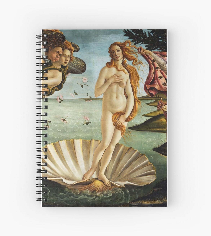 «Iconic Sandro Botticelli El nacimiento de Venus» de pdgraphics