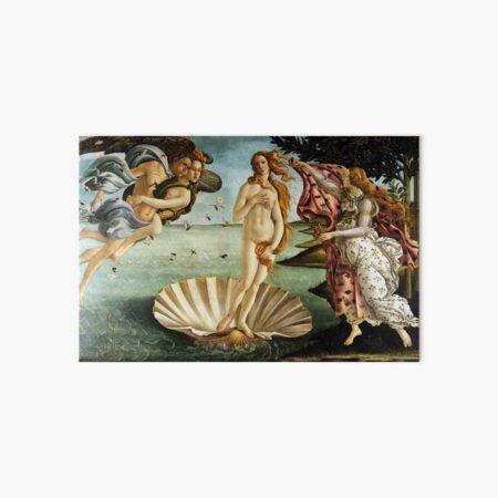 Iconic Sandro Botticelli The Birth of Venus Art Board Print