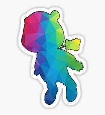 Geometric Kanye Graduation Bear Sticker