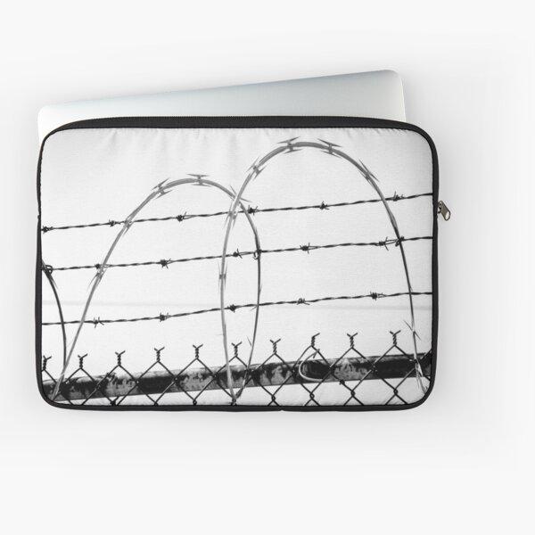 Razor Wire Fence Laptop Sleeve
