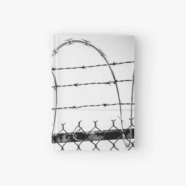 Razor Wire Fence Hardcover Journal