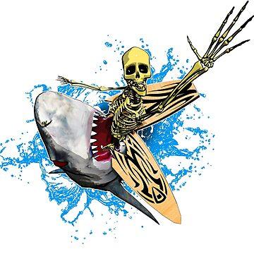 Surf'N'Skel by spirituart