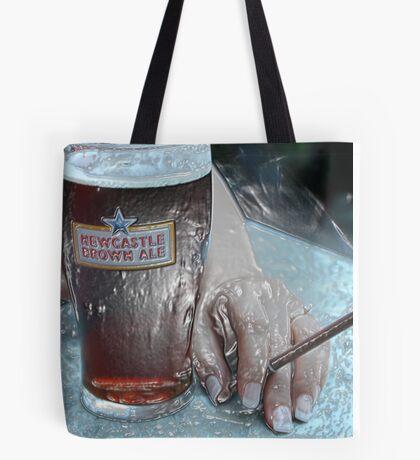 Plastic Brown Ale Beer Tote Bag