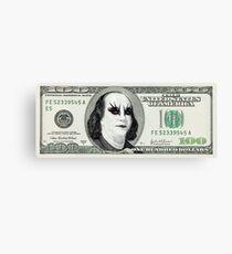 Gothic Banknote Parody Canvas Print