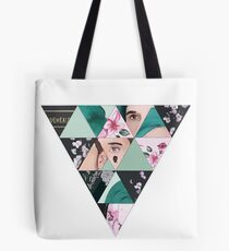 idkhow triangle Tote Bag