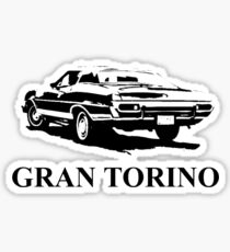 gran torino Sticker