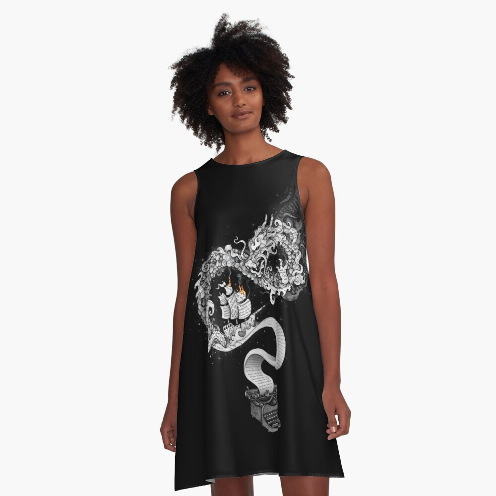 Unleashed Imagination A-Line Dress