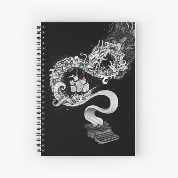 Unleashed Imagination Spiral Notebook
