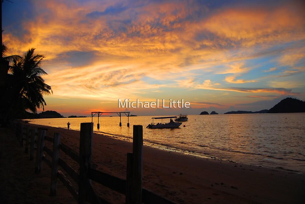 Kinarut Sunset by Michael Little