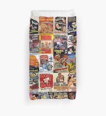 Humphrey Bogart Posters Duvet Cover