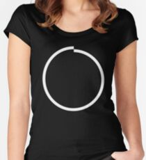 Incomplete Circle Women's Fitted Scoop T-Shirt