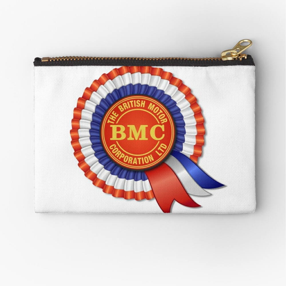 British Motor Corporation (BMC) Rosette Zipper Pouch