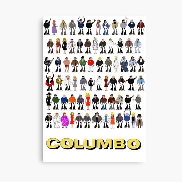 Columbo - The Murderers Canvas Print