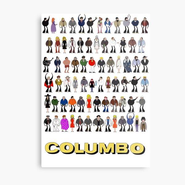 Columbo - The Murderers Metal Print