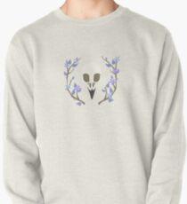 Bird Skull Pullover Sweatshirt