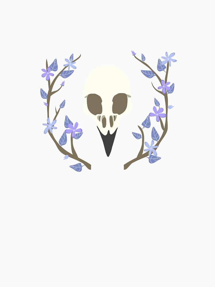 Bird Skull by jbott
