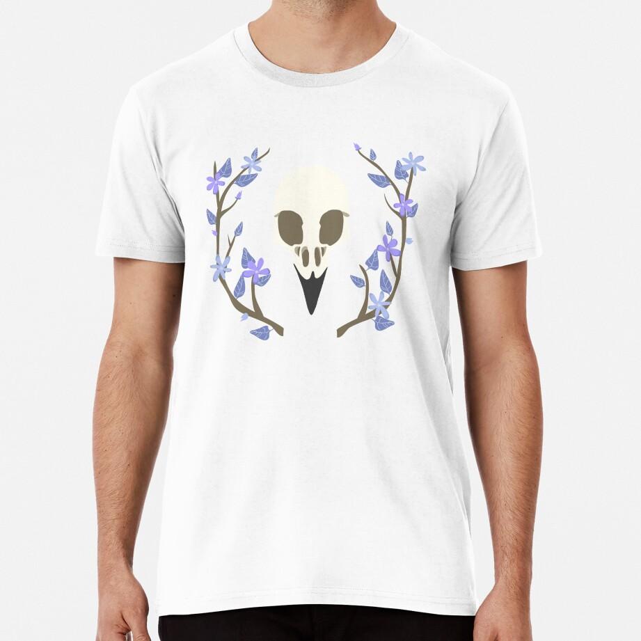 Bird Skull Premium T-Shirt
