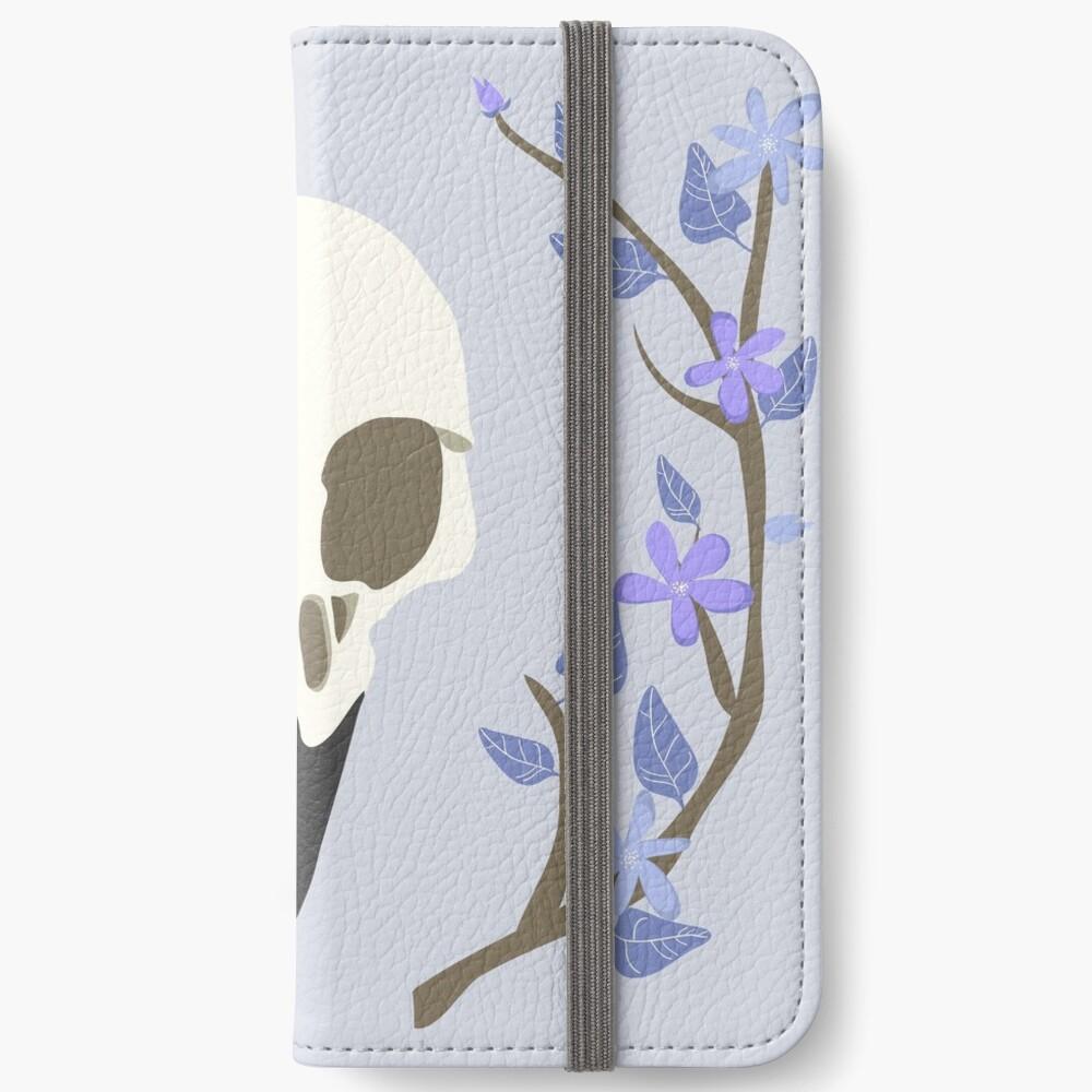 Bird Skull iPhone Wallet