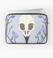 Bird Skull Laptop Sleeve
