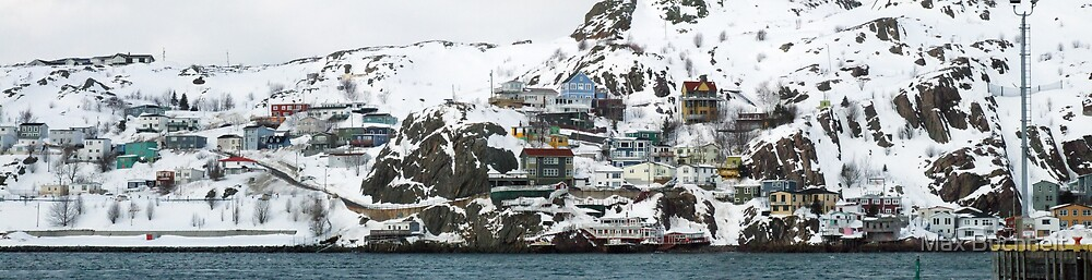 """""""The Battery"""", St. John's Harbour by Max Buchheit"""