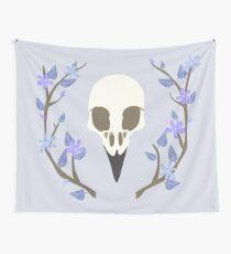 Bird Skull Wall Tapestry