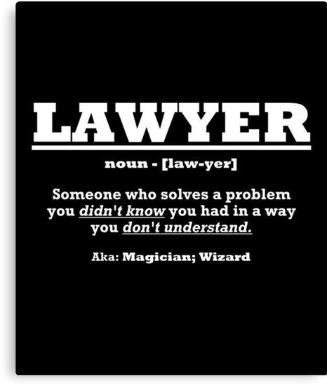 lawyer definition