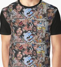Blending; A collage Graphic T-Shirt