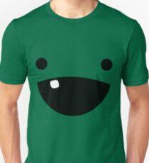 Erschreckendes Slimecicle-Gesicht Slim Fit T-Shirt