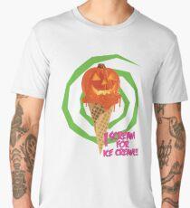 I Scream For Ice Cream!!! (Halloween Flavored) Men's Premium T-Shirt