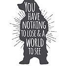 Bear Zitat von Ashley Brinkman
