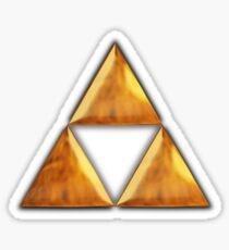 Triforce Tee (small) Sticker