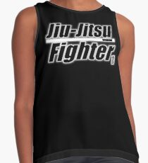 BJJ White Belt Jiu Jitsu Fighter Contrast Tank