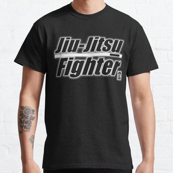 BJJ White Belt Jiu Jitsu Fighter Classic T-Shirt