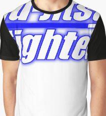 BJJ Blue Belt Jiu Jitsu Fighter Graphic T-Shirt