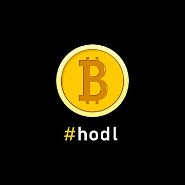 Bitcoin Hodl, Cryptocurrency Trader by BootsBoots