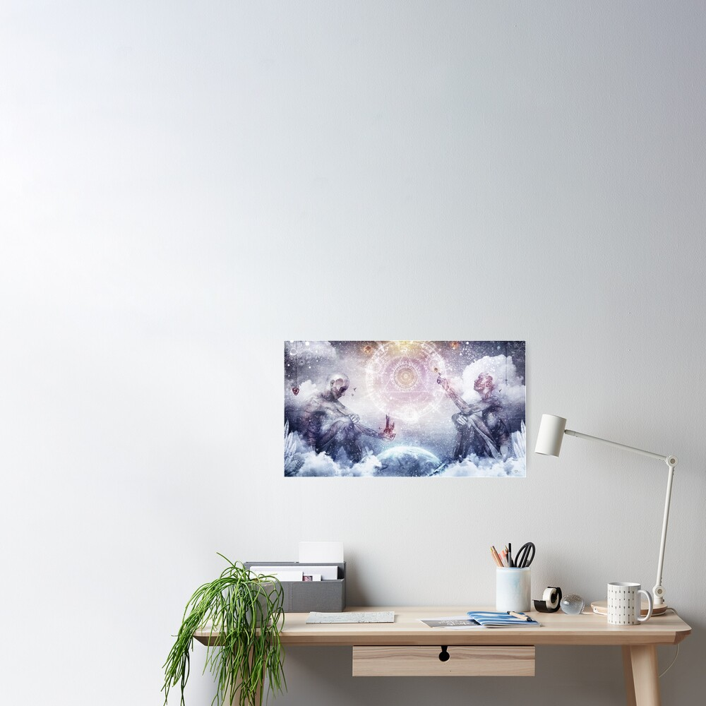Awake In a Silver Land Poster