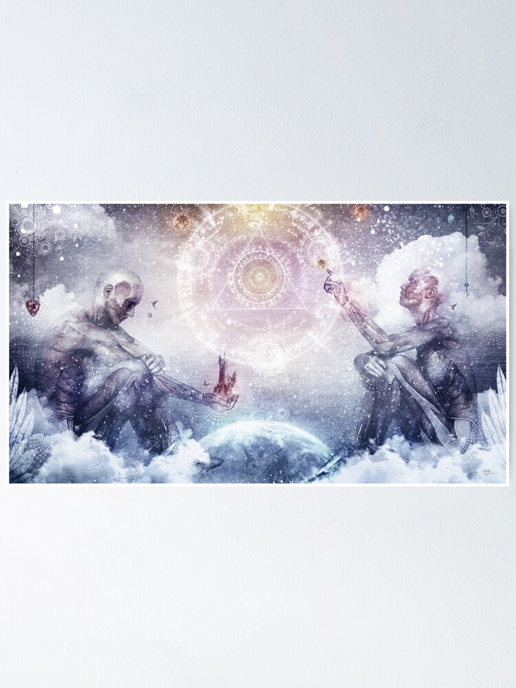 Alternate view of Awake In a Silver Land Poster