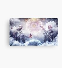 Awake In a Silver Land Canvas Print