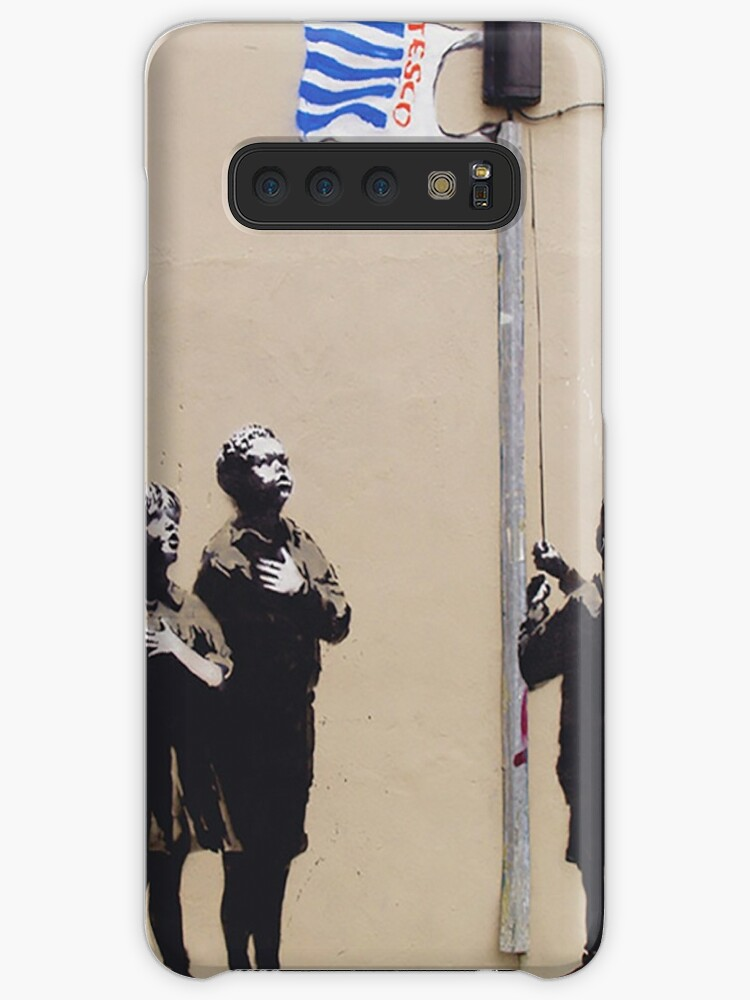 quality design 4acbc 6c4a7 'In Tesco We Trust by Banky' Case/Skin for Samsung Galaxy by Flandabble