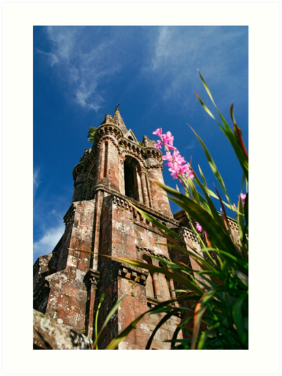 Gothic chapel, Azores by Gaspar Avila