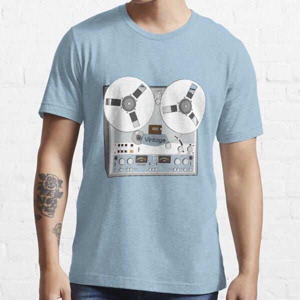 Reel Vintage Tape Deck Essential T-Shirt